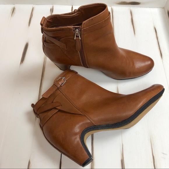 6e76bdfadd5 SAM EDELMAN Maddox Saddle Leather Boot SIZE 9-1/2